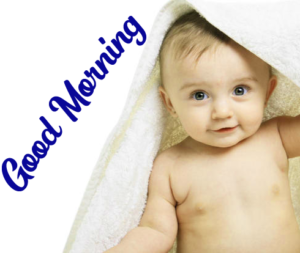 Beautiful Good Morning Images Wallpaper With Cute Baby