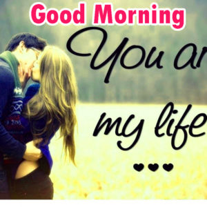 Sweet Romantic Lover Good Morning Wishes images  wallpaper download
