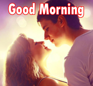 Sweet Romantic Lover Good Morning Wishes images  pics for friend