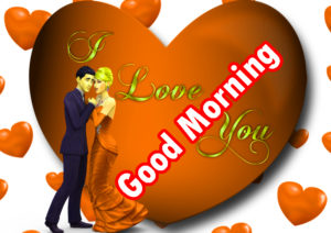 Sweet Romantic Lover Good Morning Wishes images  pics download