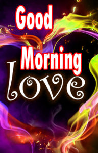 Sweet Romantic Lover Good Morning Wishes images  picture for whatsapp