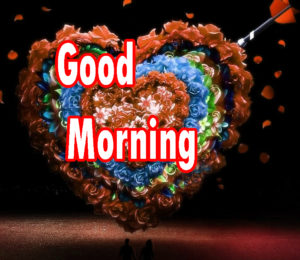 Sweet Romantic Lover Good Morning Wishes images  download for free