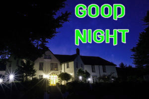 Good Night Images picture photo with nice home