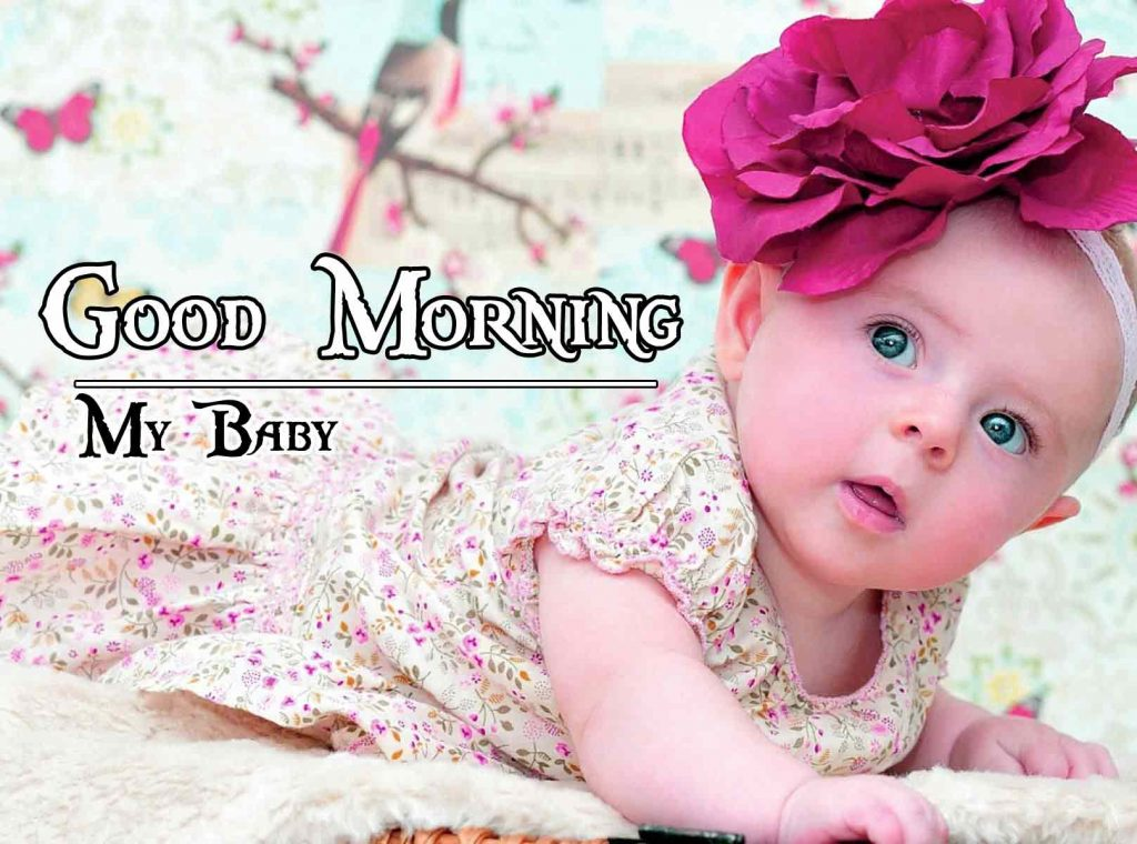 HD Nature Free Good Morning Images with baby