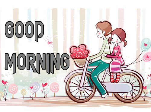 Cartoon Good Morning Wishes Images Photo Download