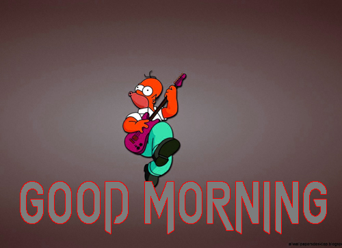 Cartoon Good Morning Wishes Images Wallpaper Pics Download