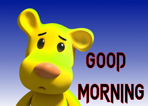 Cartoon Good Morning Wishes Images Pics Wallpaper Download
