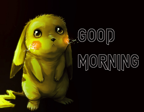 Cartoon Good Morning Wishes Images Photo Free Download