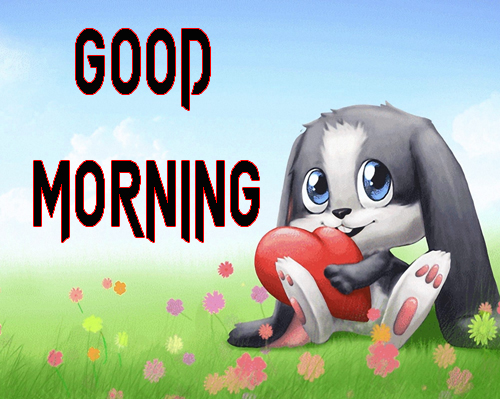 Cartoon Good Morning Wishes Images Pics Downplay