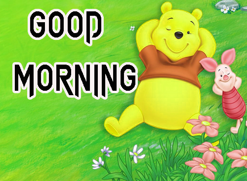 Cartoon Good Morning Wishes Images Wallpaper Free Download