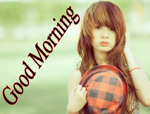 Beautiful Girls Good Morning Photo Download