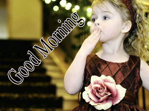 Girls Good Morning Images Wallpaper Download