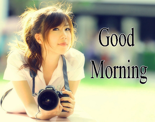 Beautiful Girls Good Morning Pics Pictures Download