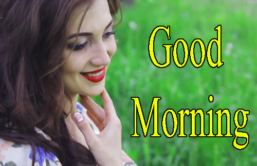 Girls Good Morning Images Photo Download