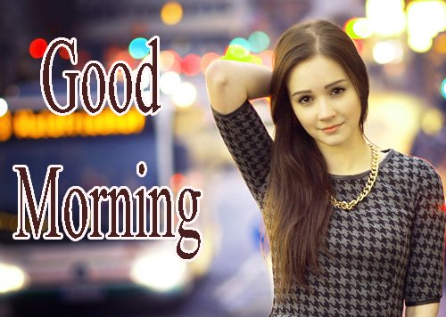 Beautiful Girls Good Morning Wallpaper Free Download