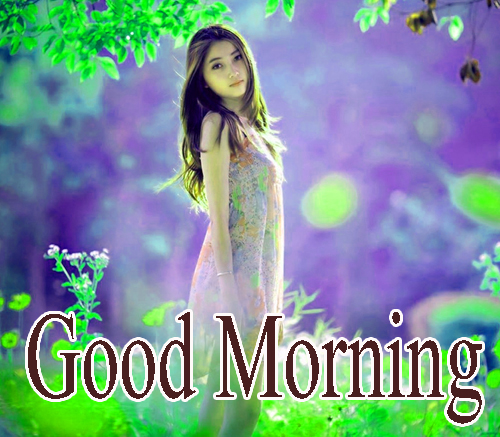 Beautiful Girls Good Morning Pics photo Download Latest
