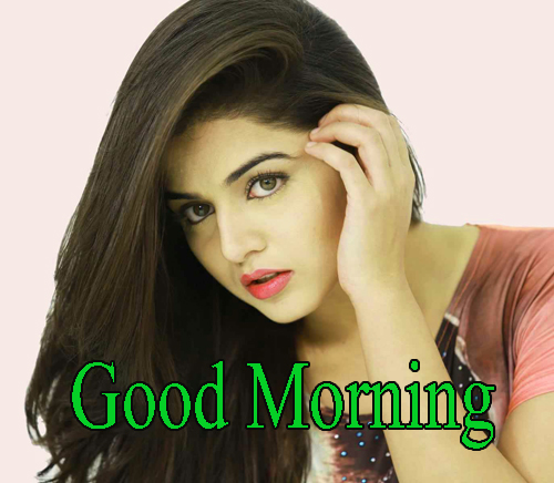 Girls Good Morning Images Wallpaper Pics for Whatsapp