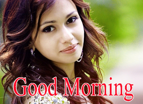 Beautiful Girls Good Morning Wallpaper Photo Download