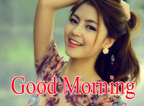 Beautiful Girls Good Morning Wallpaper Pic Download