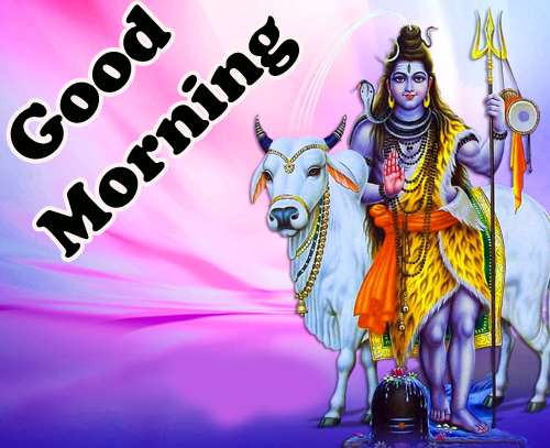 Good Morning God Bless Images Pics With Lord Shiva