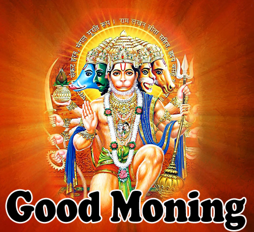 Hanuman Ji Good Morning God Bless Images  Pics