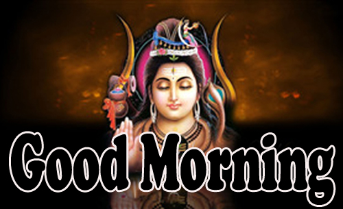 Good Morning God Bless Images Wallpaper With Lord Shiva