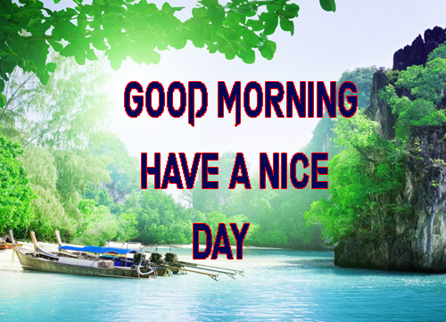 WallpaperGood Morning Have A Nice Day Images Download