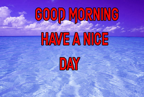 LatestGood Morning Have A Nice Day Images Pics Free