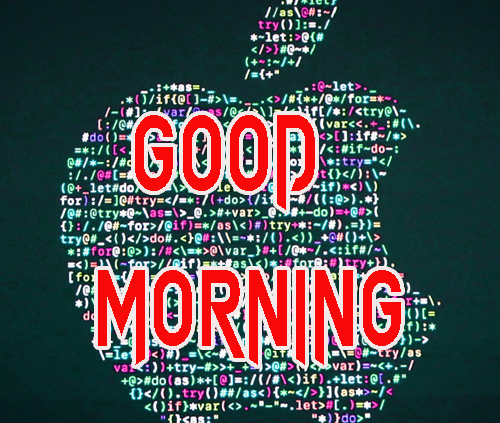 Cute Good Morning Logo Images Photo