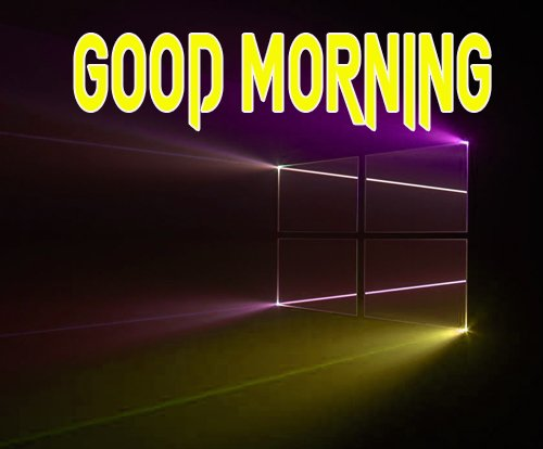 Best Good Morning Logo Images Wallpaper Free