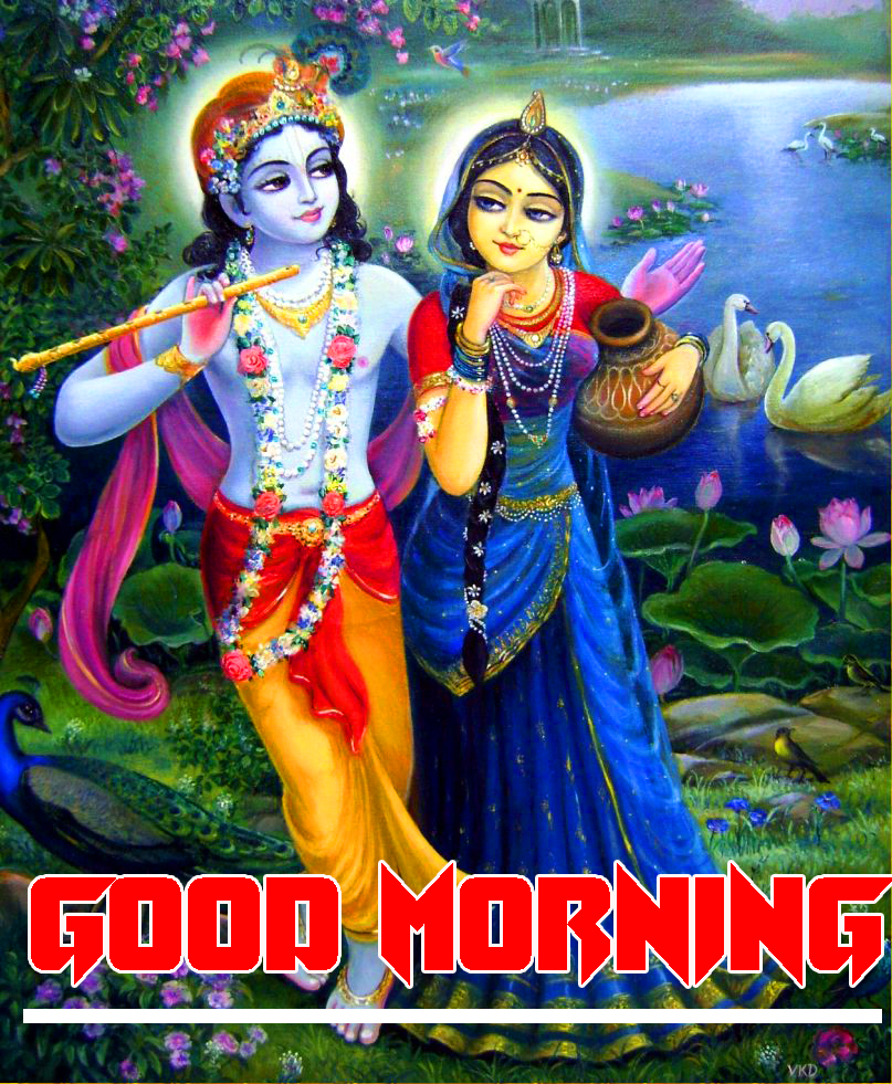 Radha Krishna Good Morning Images