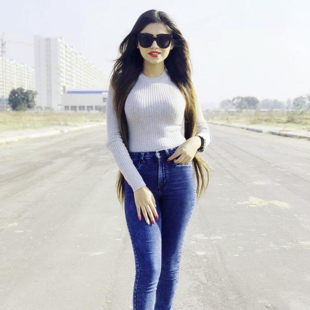 Stylish Girl Attitude Free Images