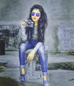 Stylish Girl Whatsapp DP Images Pics Download