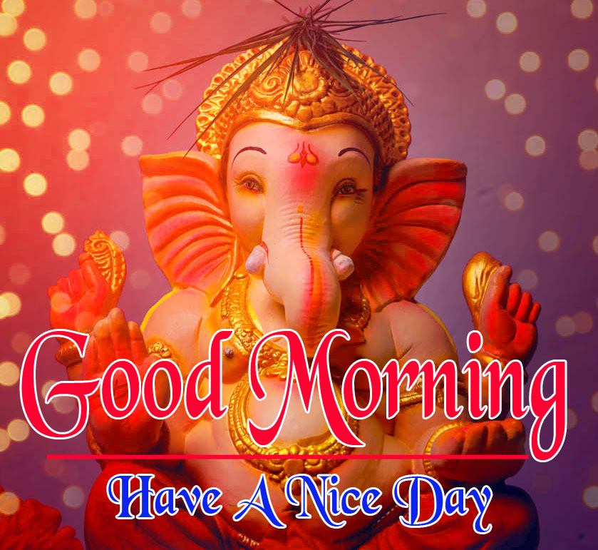 God Good Morning Images pics photo download With Ganesha