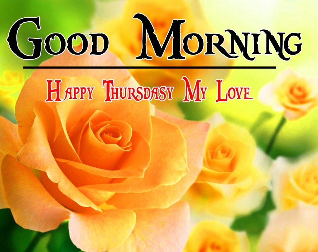 Thursday Good Morning Wishes Wallpaper photo for Whatsapp