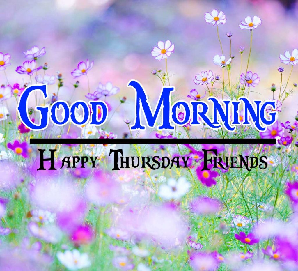 Thursday Good Morning Wishes Photo for Facebook