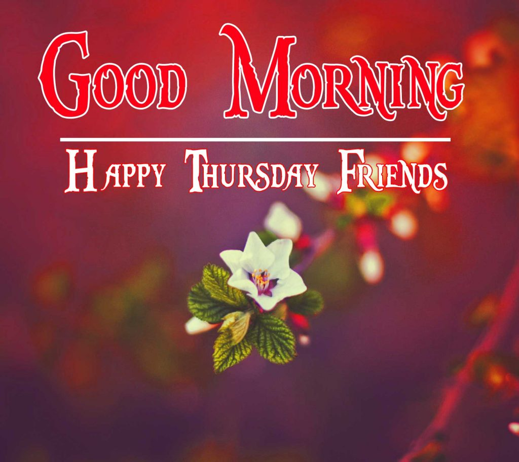 Thursday Good Morning Wishes Photo Pics Download