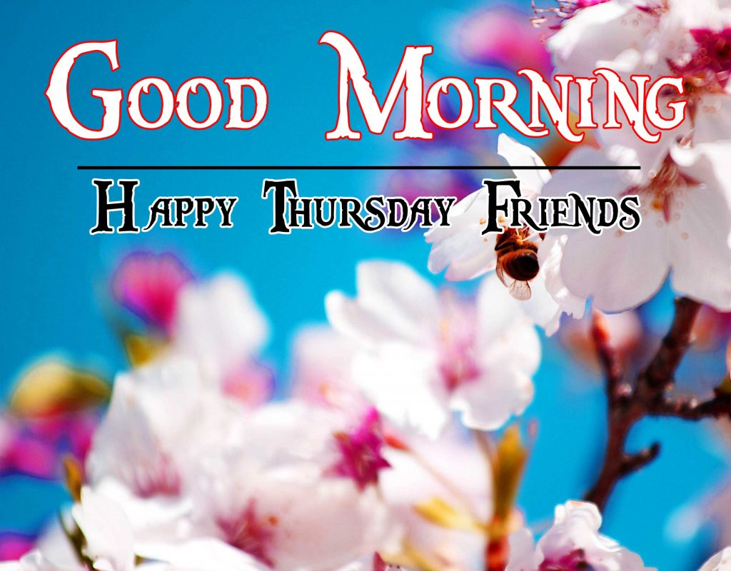 Thursday Good Morning Wishes Photo Wallpaper Download