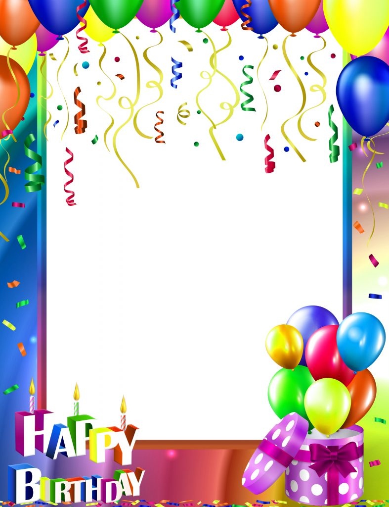 Happy Birthday Frame Images