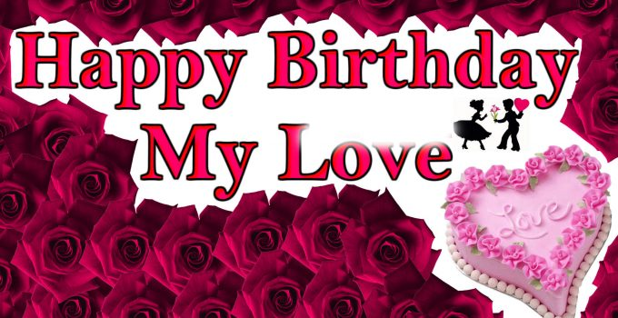 Happy Birthday Lover Images