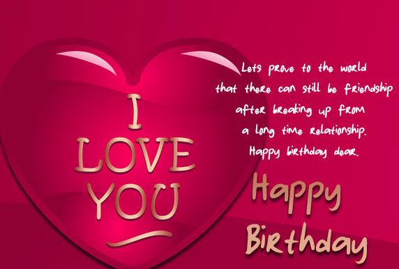 Happy Birthday Lover Images