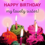 923+ Happy Birthday Wishes Images Pics Wallpaper for Sister