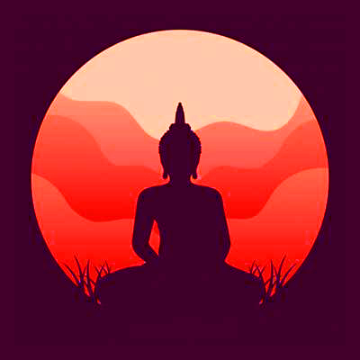 God Buddha Attractive Whatsapp Dp