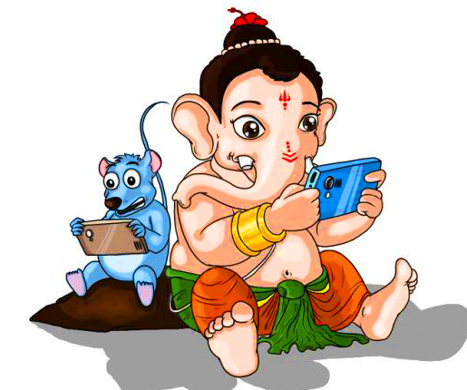 Attractive Whatsapp Dp Images With Lord Ganesha