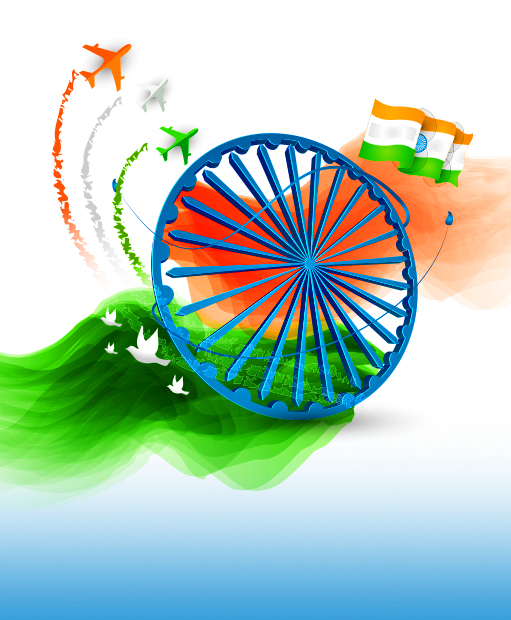 India Flag Attractive Whatsapp Dp
