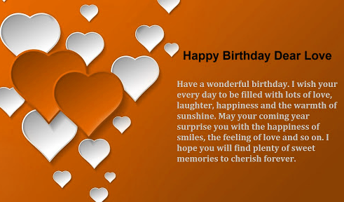 Happy Birthday Images For Lover Hd wallpaper
