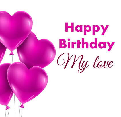 Happy Birthday Images For Lover for Facebook