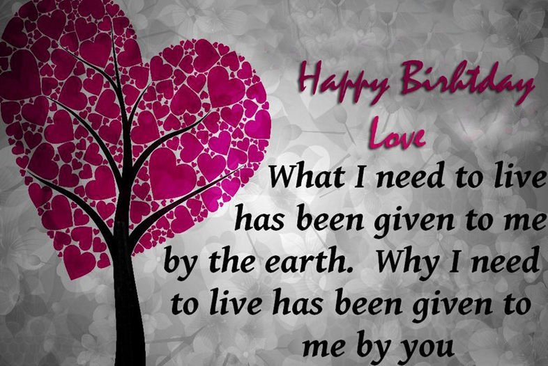 Happy Birthday Images For Lover Photo Download