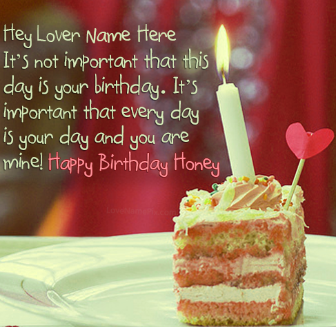 Happy Birthday Images For Lover For Wife