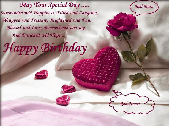 Latest Happy Birthday Images For Lover Wallpaper